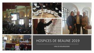 Hospices de Beaune édition 2019