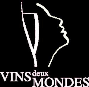Vins deux mondes logo blanc